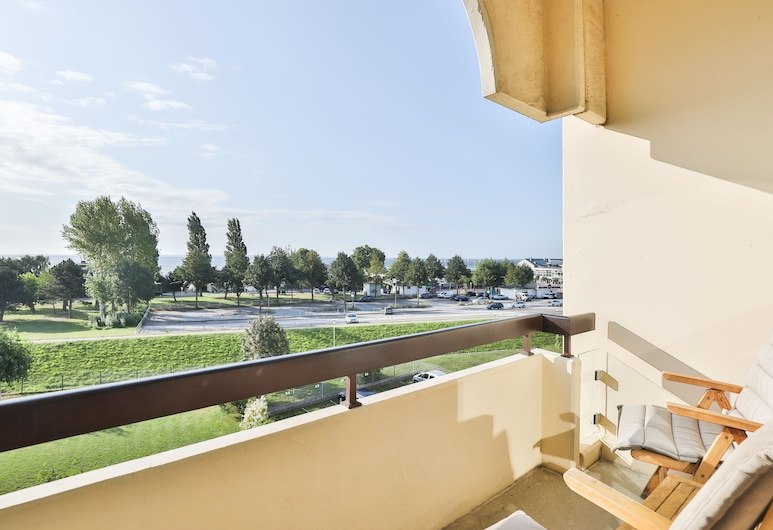 Villa am Meer, Groemitz, Δίκλινο Δωμάτιο (Double), Θέα στη Θάλασσα, Μπαλκόνι
