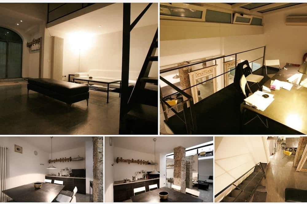 Loft, 2Schlafzimmer, Erdgeschoss - Wohnbereich