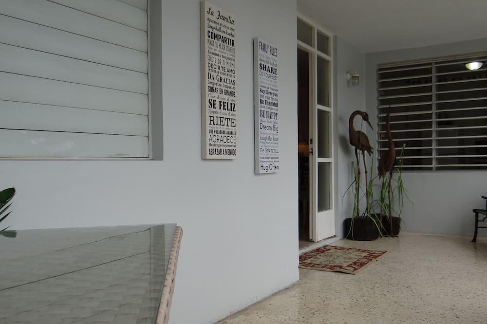 舒適公寓, 2 間臥室, 地面 - 露台