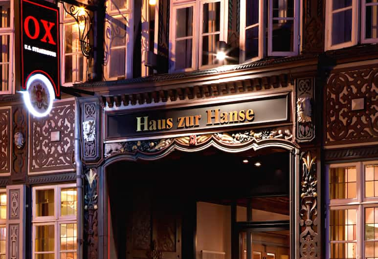 Hotel im Haus zur Hanse, Braunschweig, Hotel Front – Evening/Night
