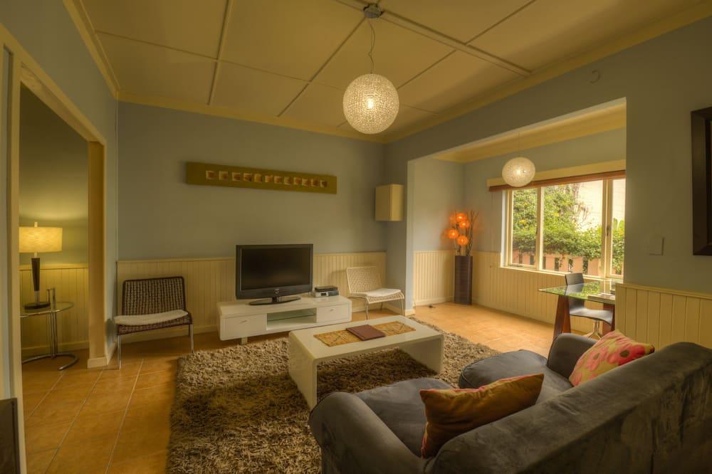 Сімейний номер-люкс, 2 спальні, з видом на сад, внутрішній дворик (The Nest) - Житлова площа