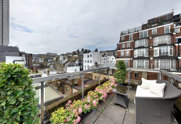 Mayfair House, London, Apartment (Penthouse), Balkon