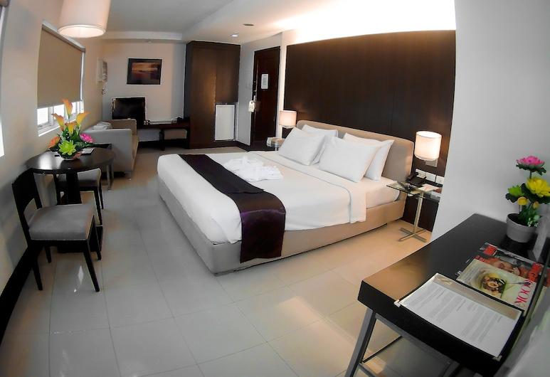 โรงแรมซิตี้สเต็ท ทาวเวอร์, มะนิลา, ห้องพัก