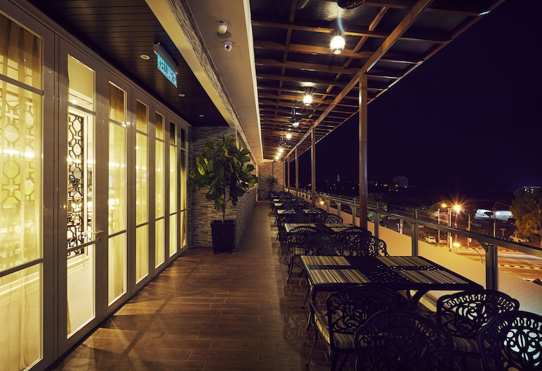 Estadia Hotel, Malacca City, מרפסת/פטיו
