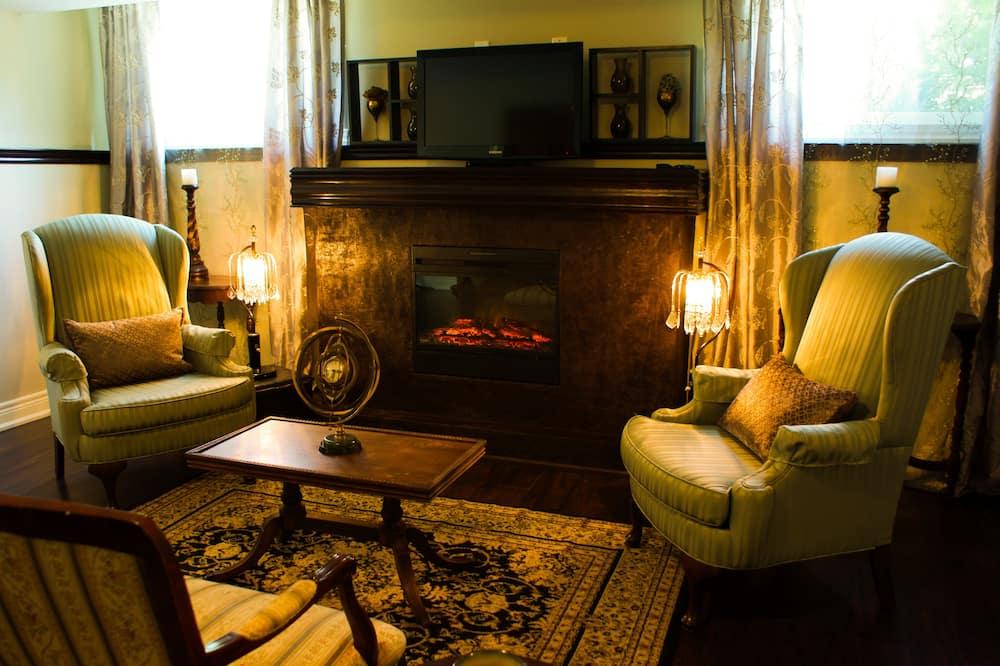 Habitación presidencial, 1 cama de matrimonio (The Hermitage) - Sala de estar