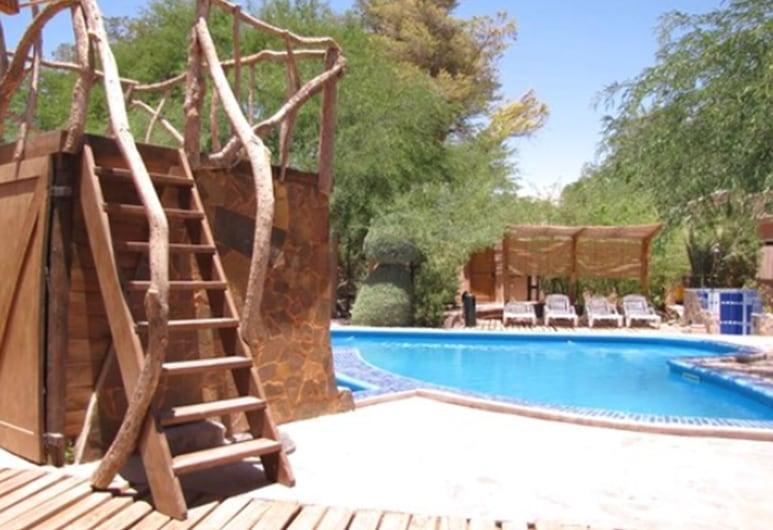 Hotel Takha Takha, San Pedro de Atacama, Basen odkryty