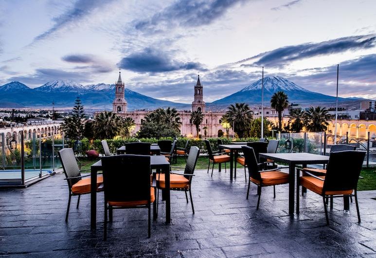 Katari Hotel At Plaza de Armas, Arequipa, Terasa