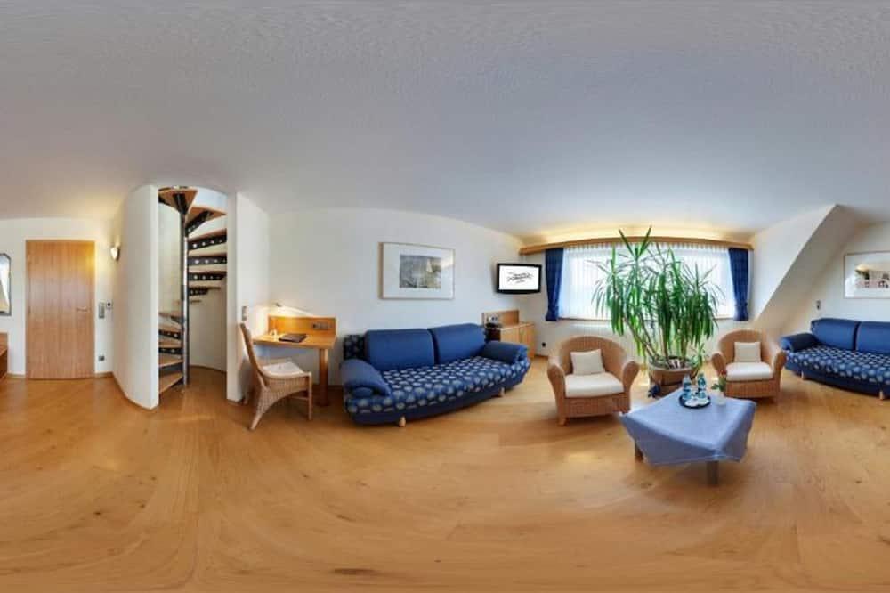 Apartmán, vedľajšia budova - Obývacie priestory
