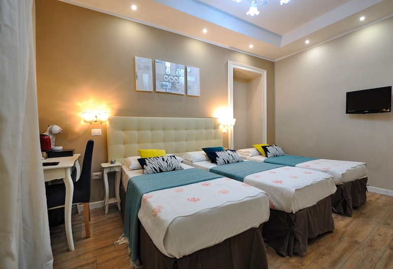 Onda Marina Rooms, Cagliari, Habitación triple, Habitación