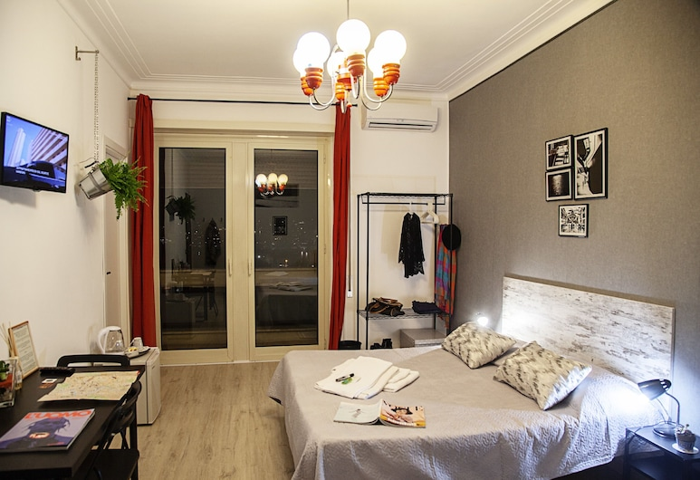 City Lights Rome, Roma, Superior Üç Kişilik Oda, Balkon, Şehir Manzaralı, Oda