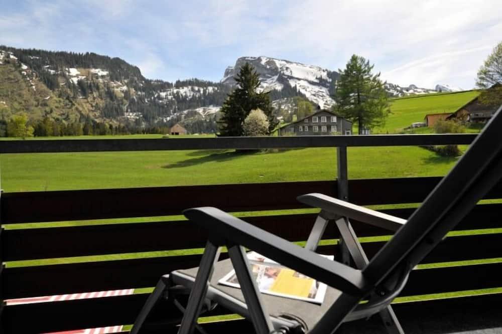 Kamar Double Klasik, pemandangan gunung - Balkon