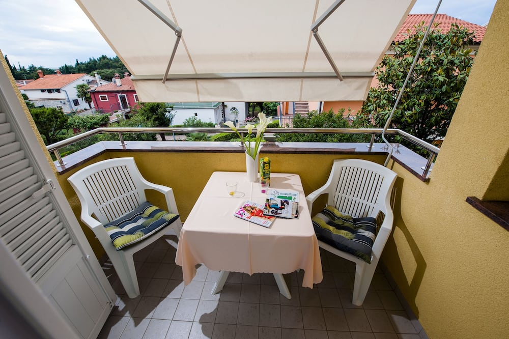 Business Apartment, 1 Bedroom, Sea View, Garden Area - Balcony