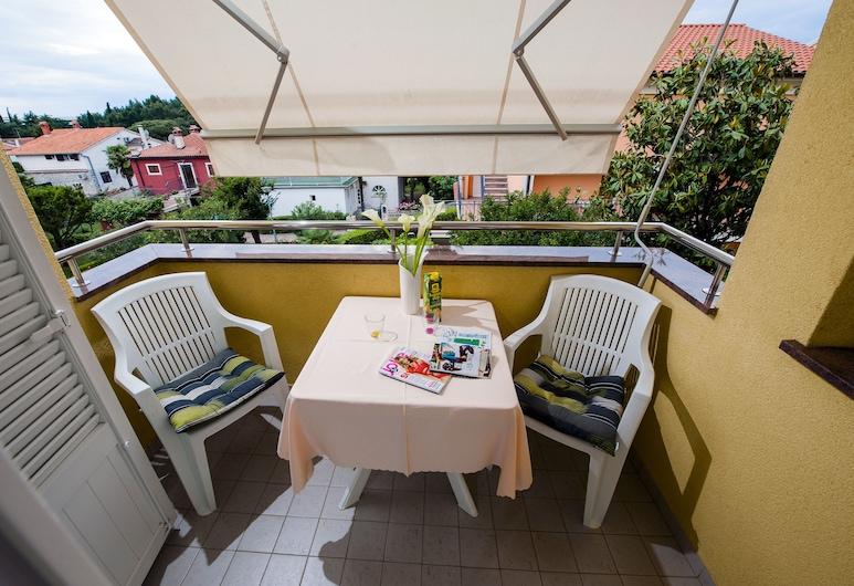 達福卡公寓, 羅維尼, 浪漫公寓, 1 間臥室, 花園景觀, 花園, 陽台