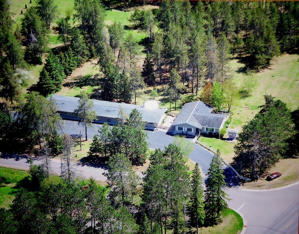 Edelweiss Motel Hayward Aerial View