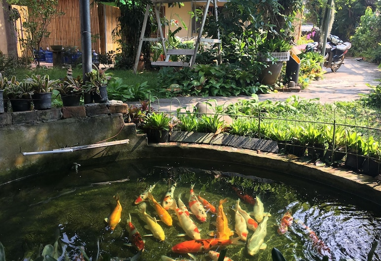 Khoum Xieng Thong Boutique Villa, Luang Prabang, Tremannsrom – superior, utsikt mot hage, Gjesterom