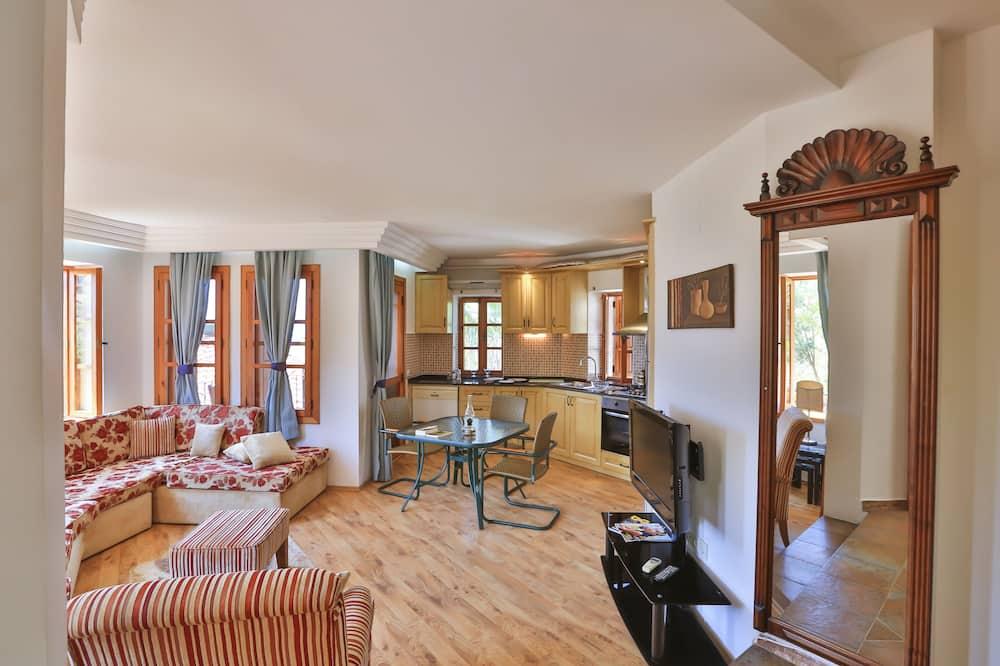 Rodinný apartmán, 2 spálne - Obývačka