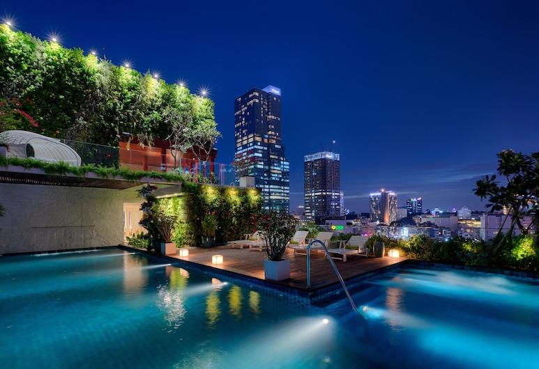 銀城查爾尼爾飯店, 胡志明市, 室外游泳池