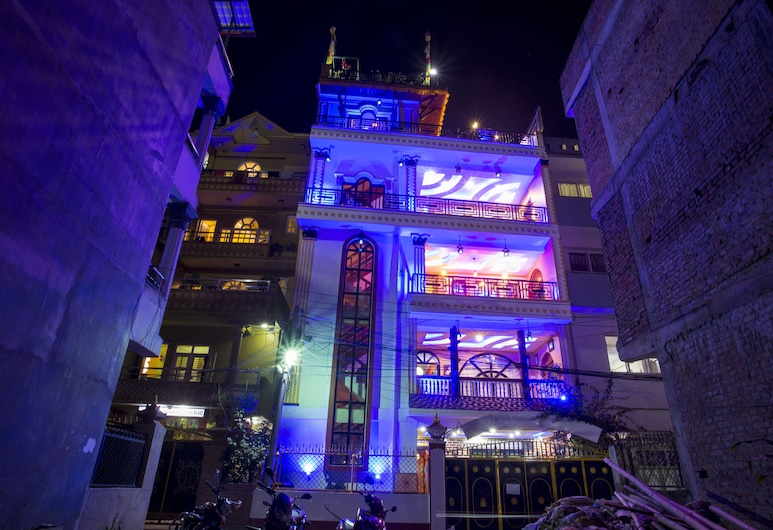 BLUE MOUNTAIN HOME STAY, Kathmandu, Hotel Front – Evening/Night