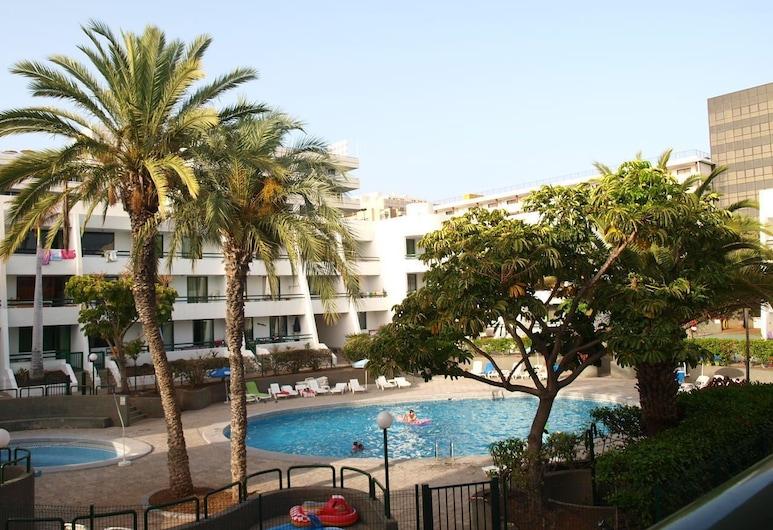 Apartamentos Optimist Tenerife, Arona, Superior-huoneisto, 1 makuuhuone, Ulkouima-allas