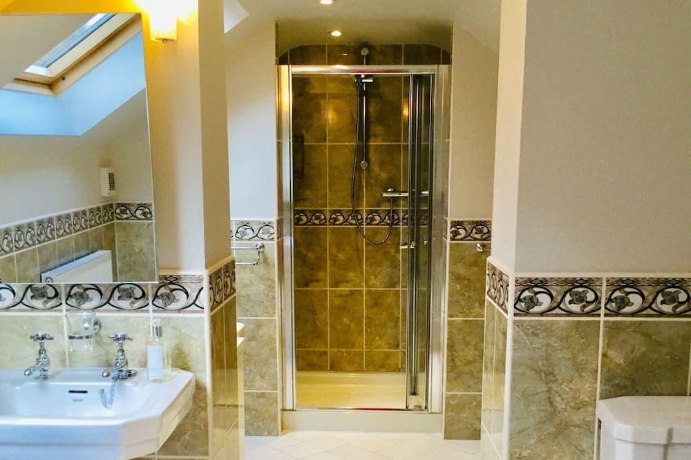 Comfort kamer, 1 twee- of 2 eenpersoonsbedden (Large) - Badkamer