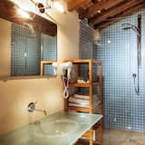 Phòng Deluxe, 1 giường cỡ queen, Khu vực vườn - Phòng tắm
