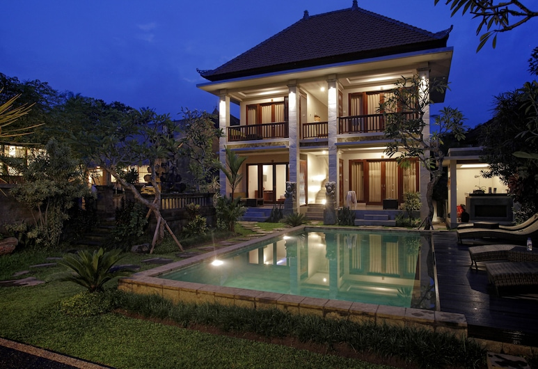 Lili House Ubud Hotel, Ubud, Vue depuis la chambre