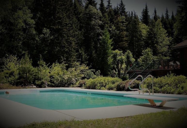 Mulvehill Creek Wilderness Inn, Revelstoke, Hồ bơi ngoài trời