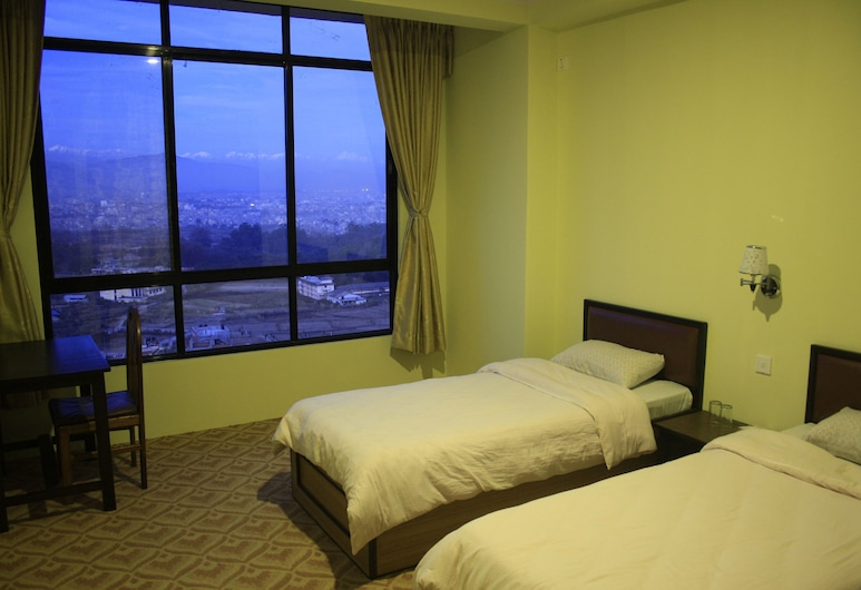 KIRTIPUR HILLSIDE HOTEL & RESORT, Kathmandu, Standard Double Room, 1 Double Bed (With View), Guest Room