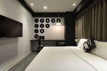 台中台中博客創意旅店的相片