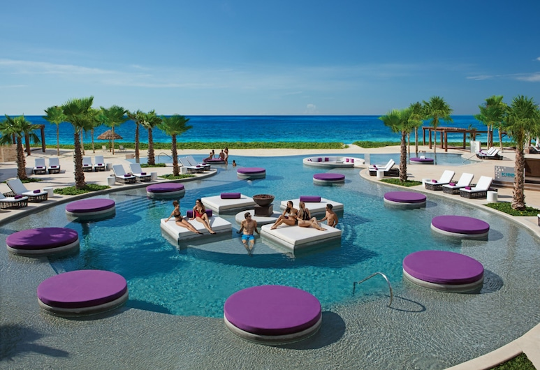Breathless Riviera Cancun Resort & Spa, Puerto Morelos, Suite junior (Xhale Club Ocean View King), Piscina