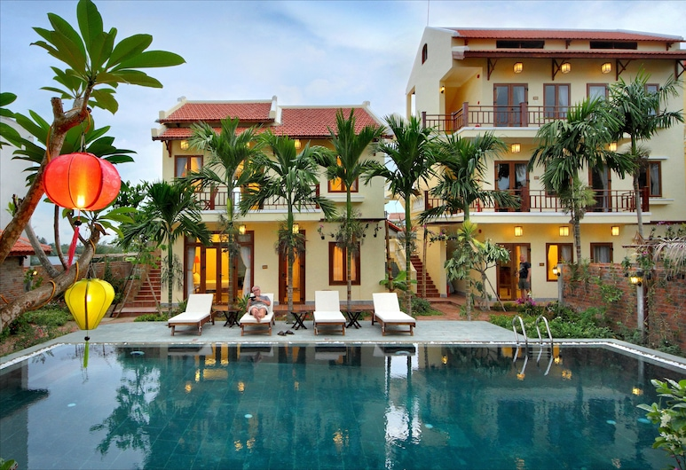 Villa Orchid Garden Riverside, Hoi An, Buitenzwembad