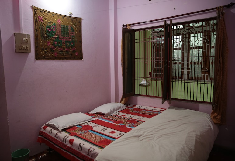 Somit Paying Guest House, Varanasi, Basic-Doppelzimmer, 1 Schlafzimmer, Stadtblick, Zimmer
