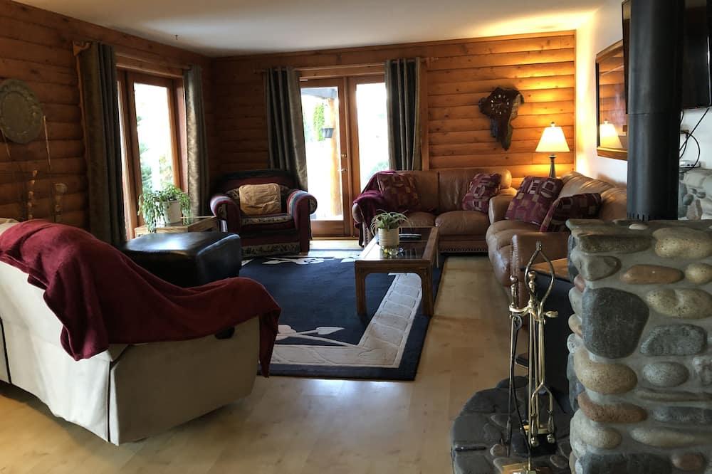 Casa Deluxe, 4 camere da letto, vista spiaggia, di fronte alla spiaggia - Area soggiorno