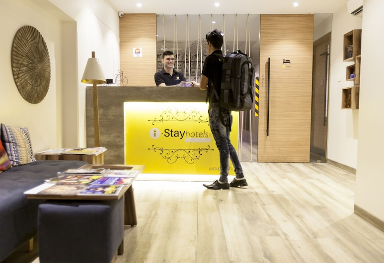 iStay Hotels Andheri MIDC, Bombay, Resepsiyon