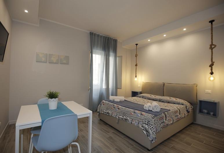 Belle Arti - Case Vacanza, Palermo, Monolocale comfort, 1 camera da letto, fumatori, cucina, Camera