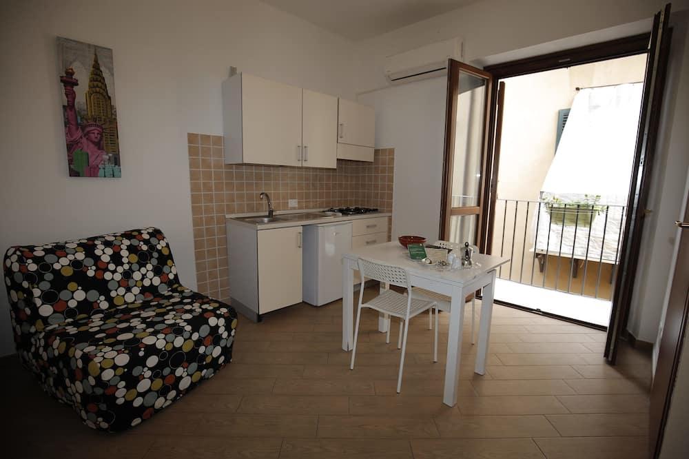 公寓, 1 間臥室, 吸煙房, 廚房 - 客廳