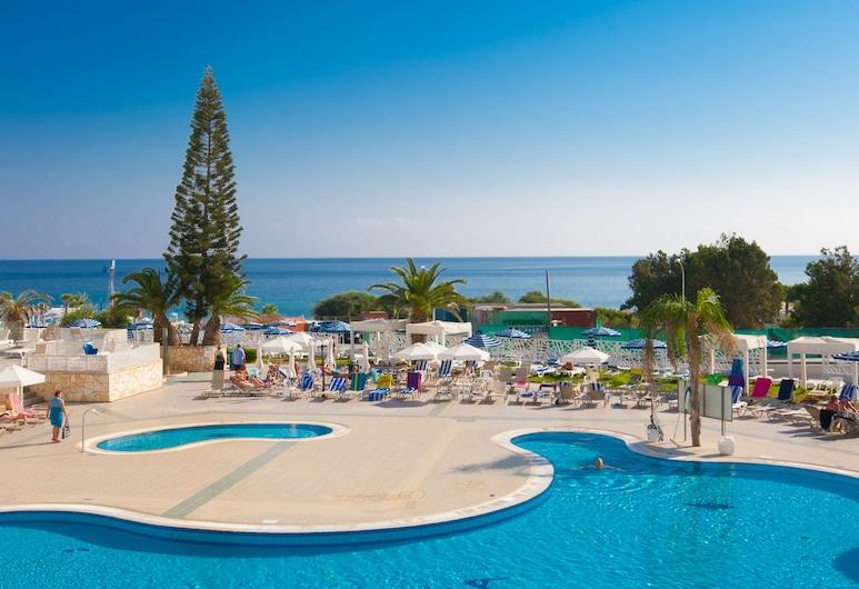 Odessa Beach Hotel, Protaras, Utendørsbasseng