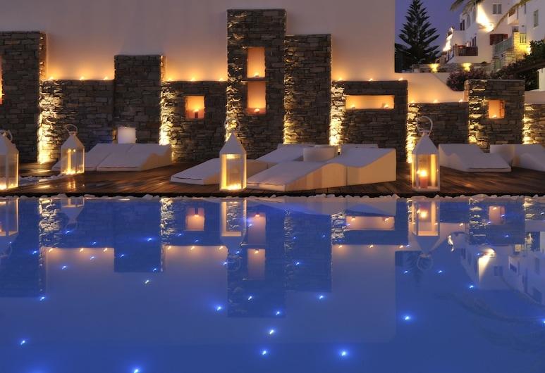 Senia Hotel, Paros, Exterior