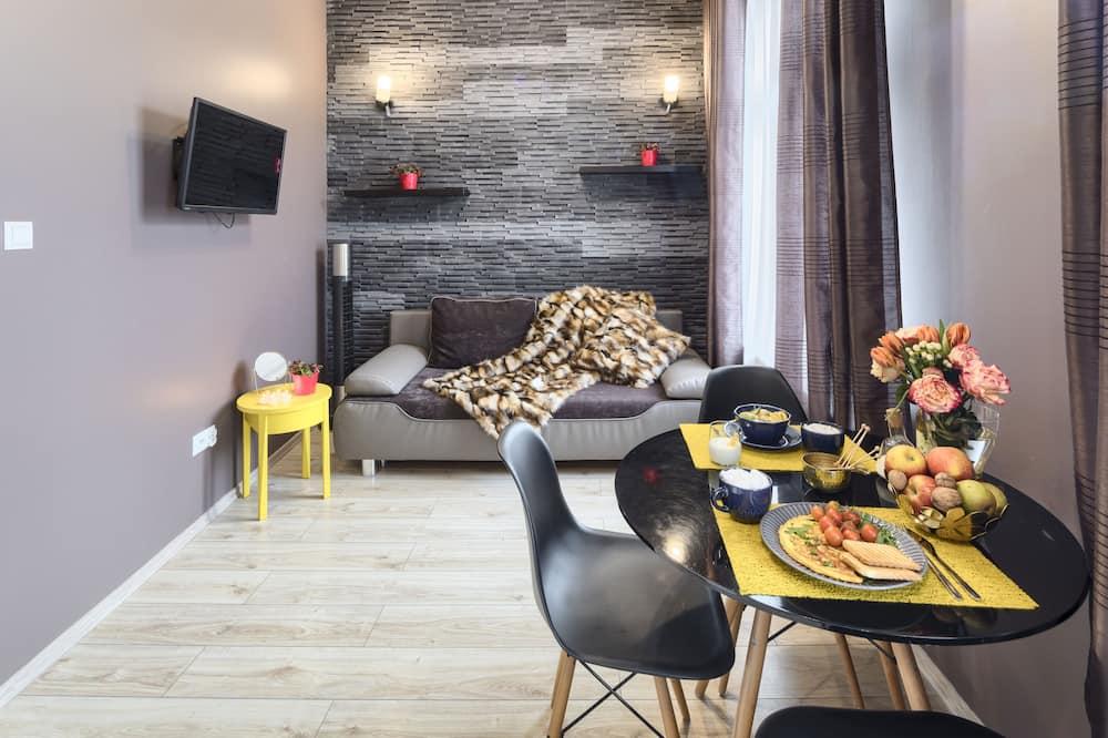 주니어 스위트, 침실 1개, 금연 - 거실