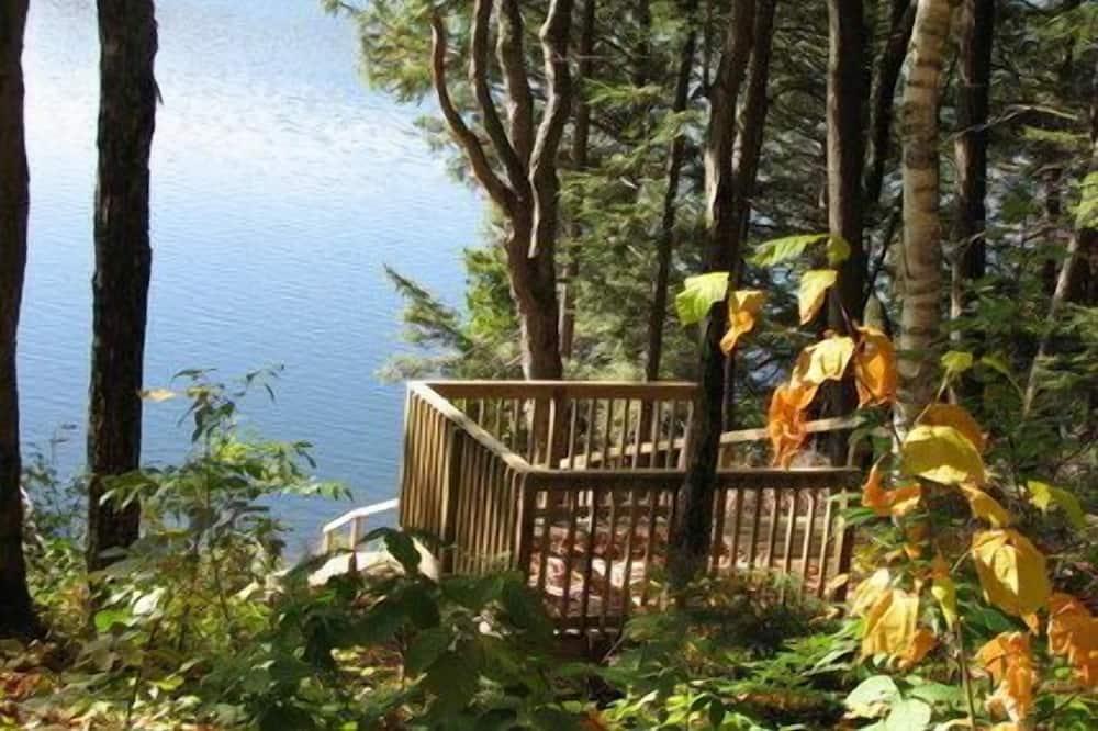 Casa de campo Deluxe, 3 habitaciones, cocina, vista al lago - Terraza o patio