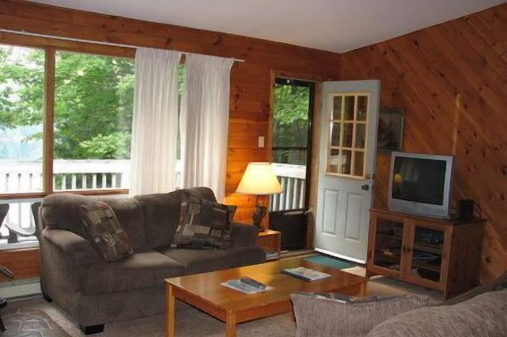 Casa de campo superior, 3 habitaciones, cocina, vista al lago - Sala de estar