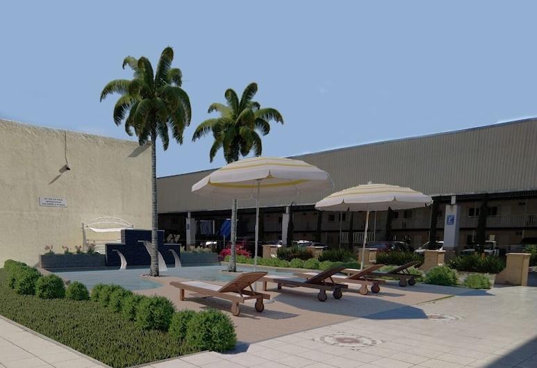 Hotel del Alba, אגואס קליינטס, אזור חיצוני