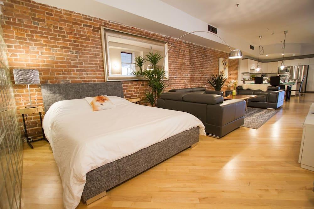Căn hộ, 2 phòng ngủ (Winter Chalet) - Phòng khách