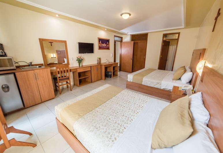 Hotel Elizabeth Central, Aguaskalientesas, Kambarys šeimai, 2 standartinės dvigulės lovos, Svečių kambarys