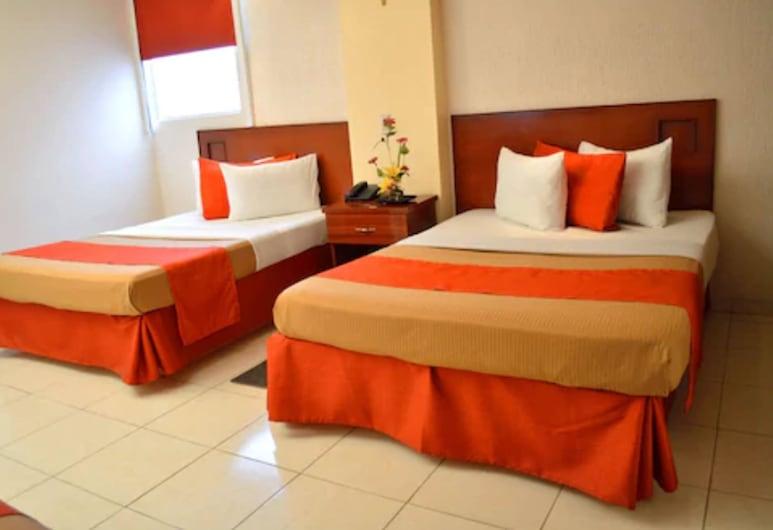 Hotel Elizabeth Ciudad Deportiva, Aguascalientes, Standard Δίκλινο Δωμάτιο (Double), 2 Διπλά Κρεβάτια, Δωμάτιο επισκεπτών