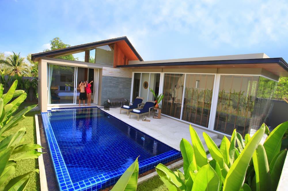 Exclusive Βίλα, 1 Υπνοδωμάτιο, Ιδιωτική Πισίνα, Θέα στην Πισίνα - Ιδιωτική πισίνα