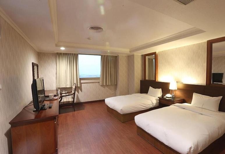 Banciaoking Hotel (Formerly Universal Royal Hotel), Naujasis Taipėjus, Kambarys, 2 standartinės dvigulės lovos (2 persons), Svečių kambarys