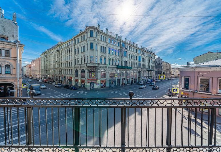 Kravt Sadovaya Hotel, São Petersburgo, Suite de Luxo, 1 cama king-size, Varanda, Vista Cidade, Vista a partir das Varandas