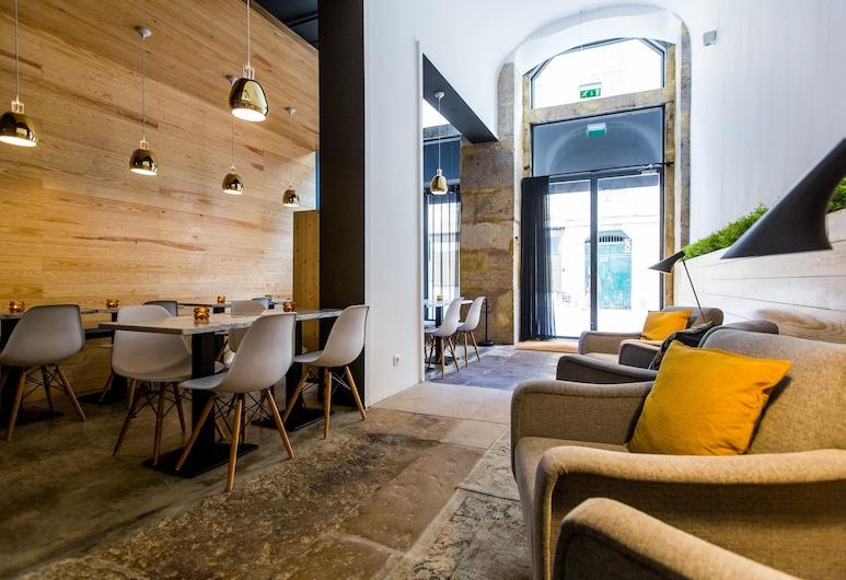 The 8 Downtown Suites, Lisboa, Salón en el lobby