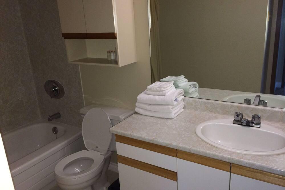 公寓, 2 間臥室, 廚房, 湖景 - 浴室